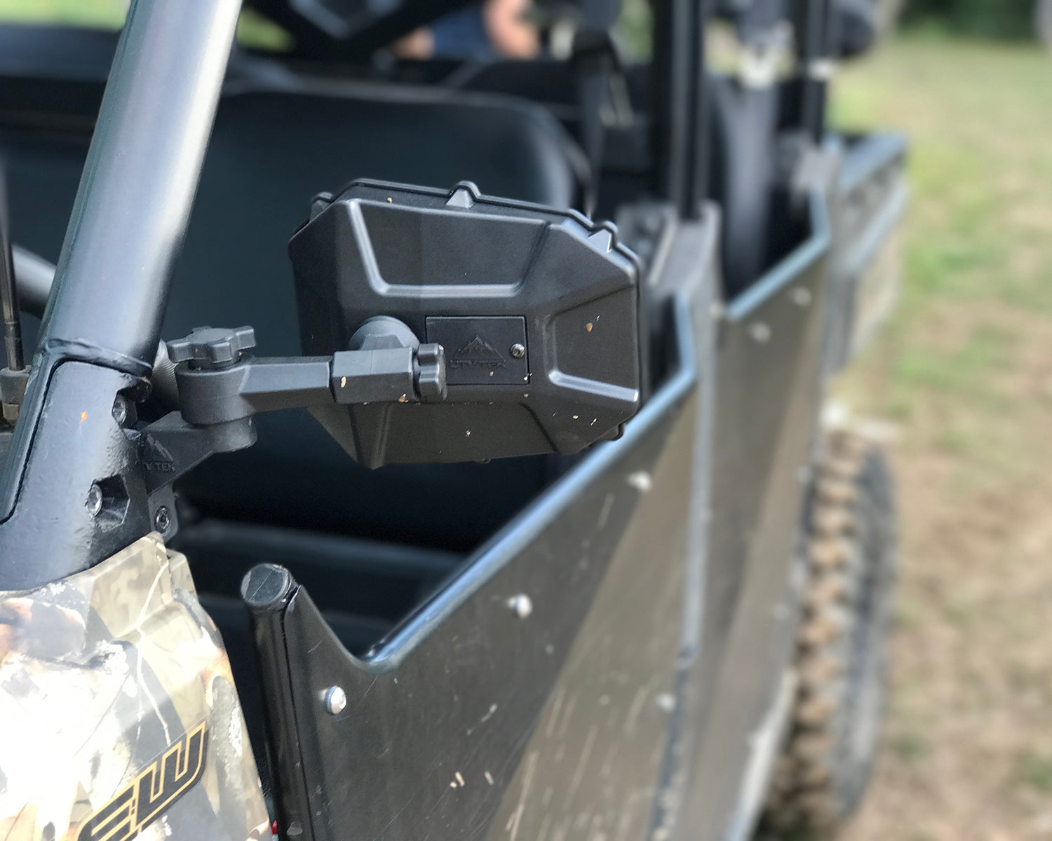 Elite Series UTV Side Mirror w/dual axis breakaway
