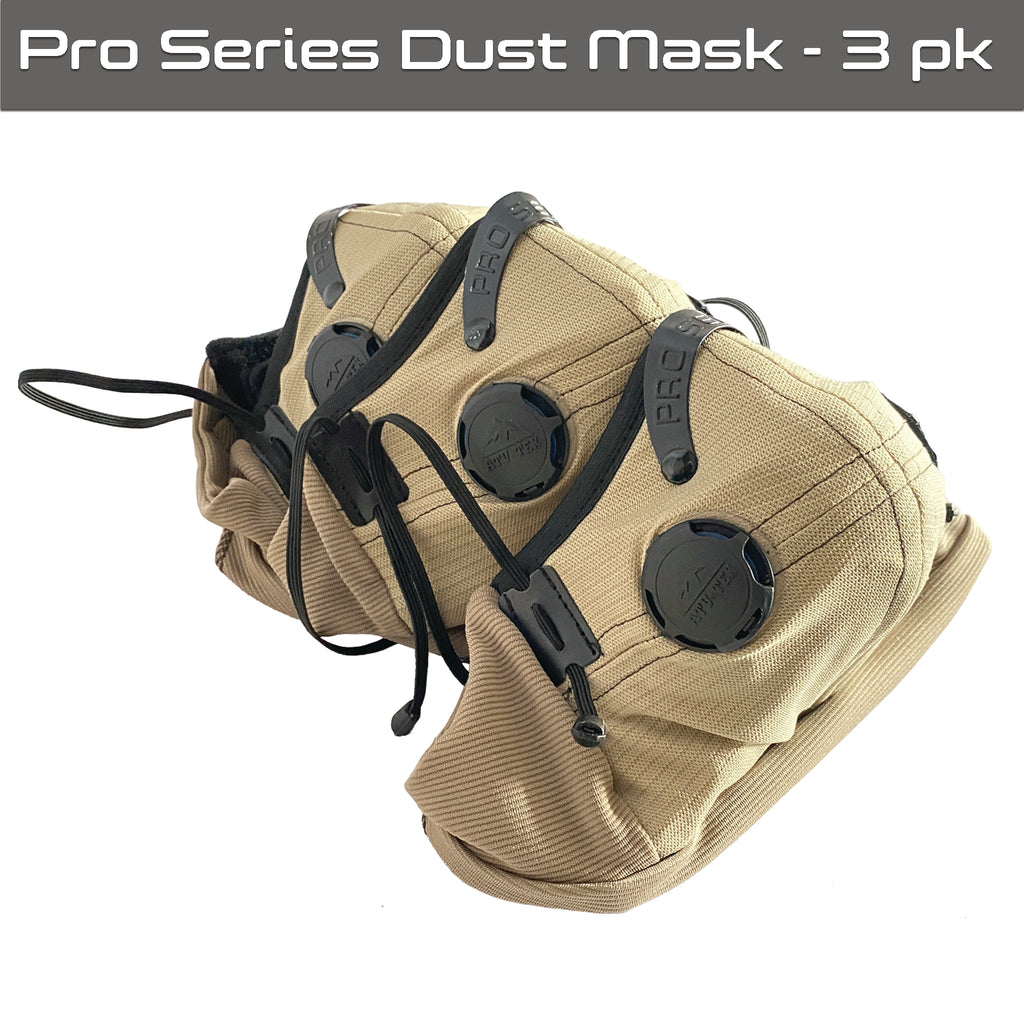 Pro Series Rider & Safety Dust Mask - 3 Pack