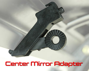Pro Series/Elite Series Center Mirror & Sun Visor Adapter - For Polaris® Pro Fit Roll Cages