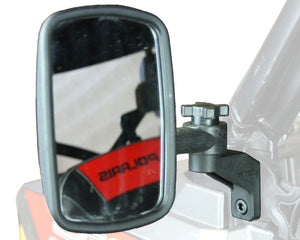 Clearview™ UTV Side Mirror For Polaris® Ranger Pro Fit Roll Cage
