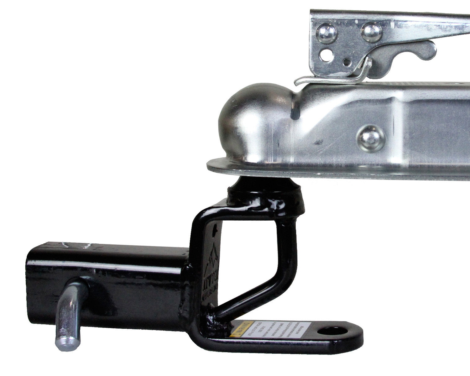2 Ball Hitch >> Trio Hd Receiver Hitch W 2 Ball Mount Trh1