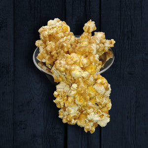 """Outlawed"" Original Butter Crunch Toffee Popcorn (7oz)"