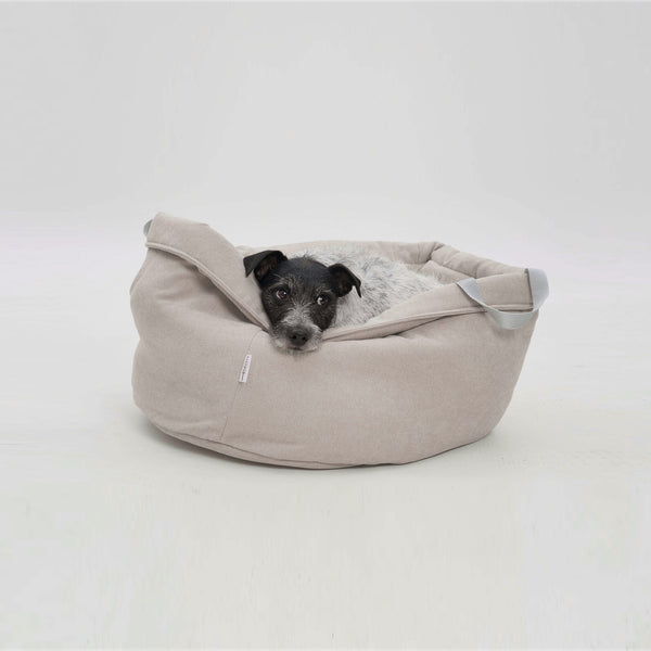 DOGS in the CITY Little Basket Monterey | Beige