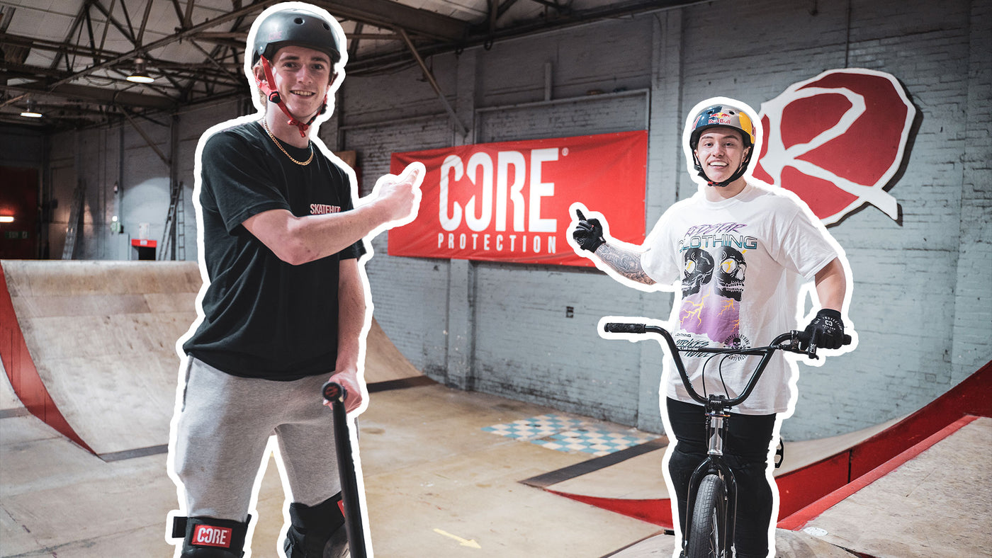 Video: Game of CORE: Jamie Hull v Kieran Reilly at Rampworx Skatepark
