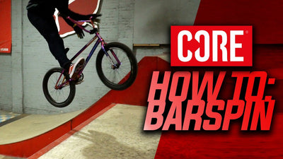 Video: How to Barspin a BMX Bike with Dylan Hessey