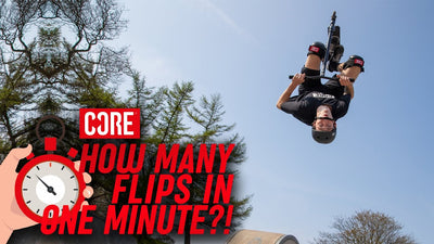 Video: How many backflips can Jamie Hull do in a minute?