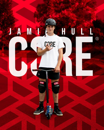 NEW Pro Rider - Jamie Hull signs for CORE Protection