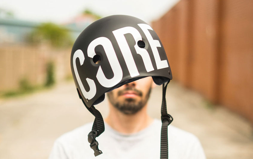 CORE Skate Helmet BMX Helmet and Scooter Helmet