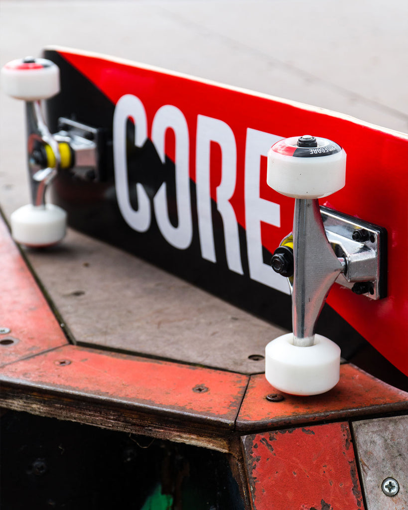 CORE C2 Split Complete Skateboard in Red/Black