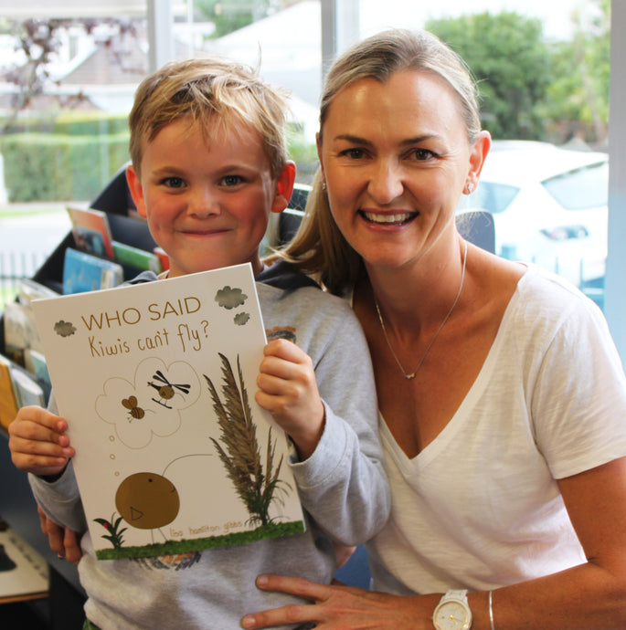 Little Kiwis review Who said Kiwis can't fly? children's book