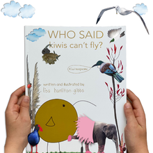 Load image into Gallery viewer, Who said kiwis can't fly BOOK and free card