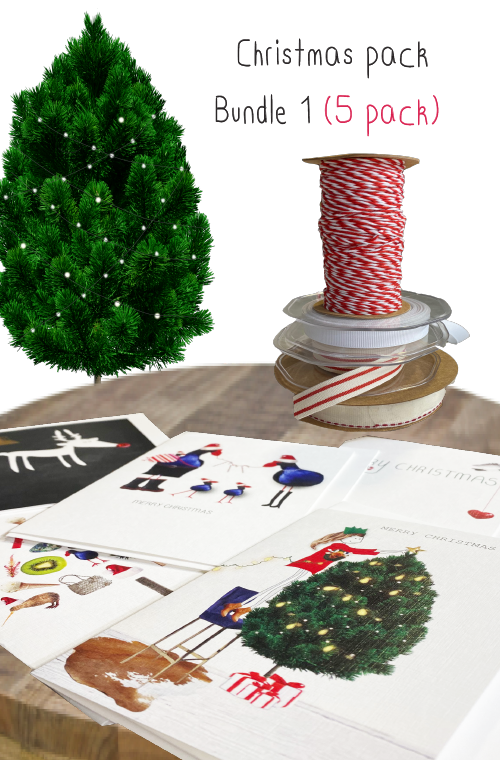 Christmas card bundle a - 5 pack
