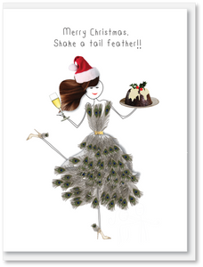 NEW Christmas - Shake a tail feather