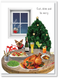 NEW Christmas - Eat drink and be merry