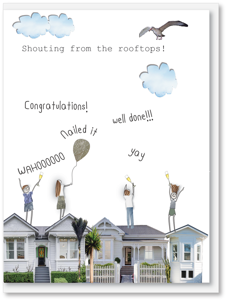 NEW Congratulations - Shout it from the rooftops