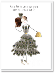 NEW Fun - Why fit in when you were born to stand out?!