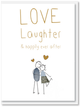 Load image into Gallery viewer, NEW Wedding - Love & laughter