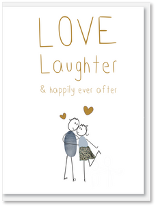 NEW Wedding - Love & laughter