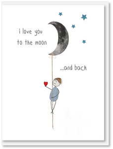 NEW Love - I love you to the moon and back