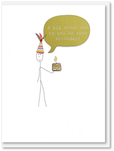 Birthday - A big shout out