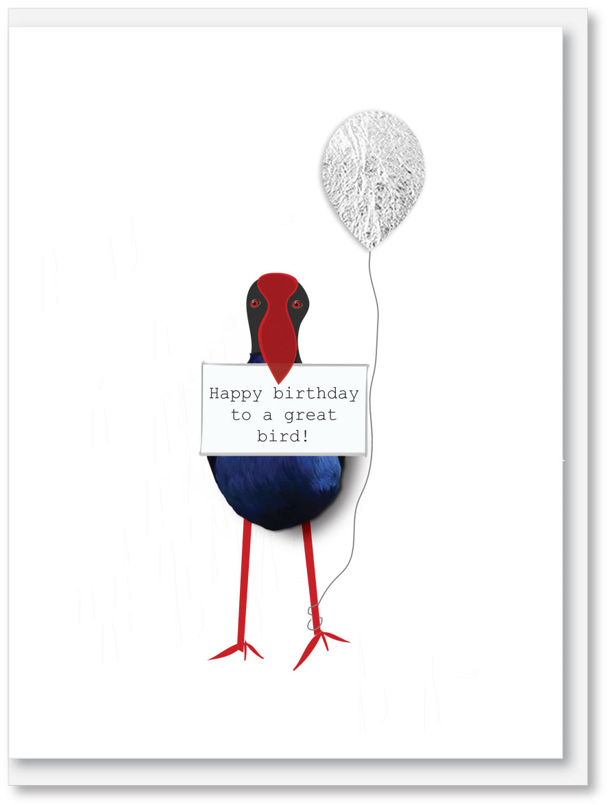 Happy birthday great bird