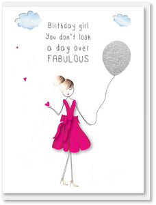 Birthday - Not a day over fabulous