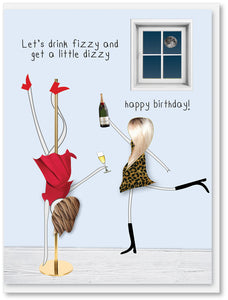 Birthday - Let's drink fizzy and get a little dizzy