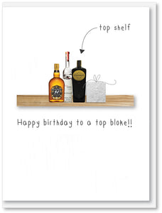 Top Shelf Happy Birthday