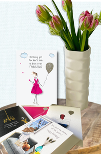 Birthday for her card bundle a - 5 Pack