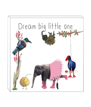 Load image into Gallery viewer, Art block - Dream Big Kiwi
