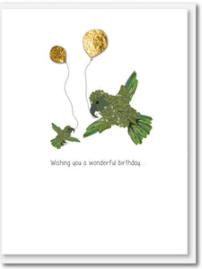 Kiwi birthday cards - 5 pack