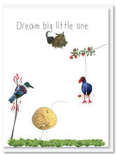 Load image into Gallery viewer, Who said kiwis can't fly book, block & card bundle