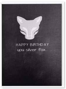 Birthday - Silver fox birthday