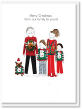 Load image into Gallery viewer, Christmas card bundle a - 5 pack