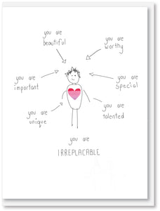 Compliments - You are Irreplaceable