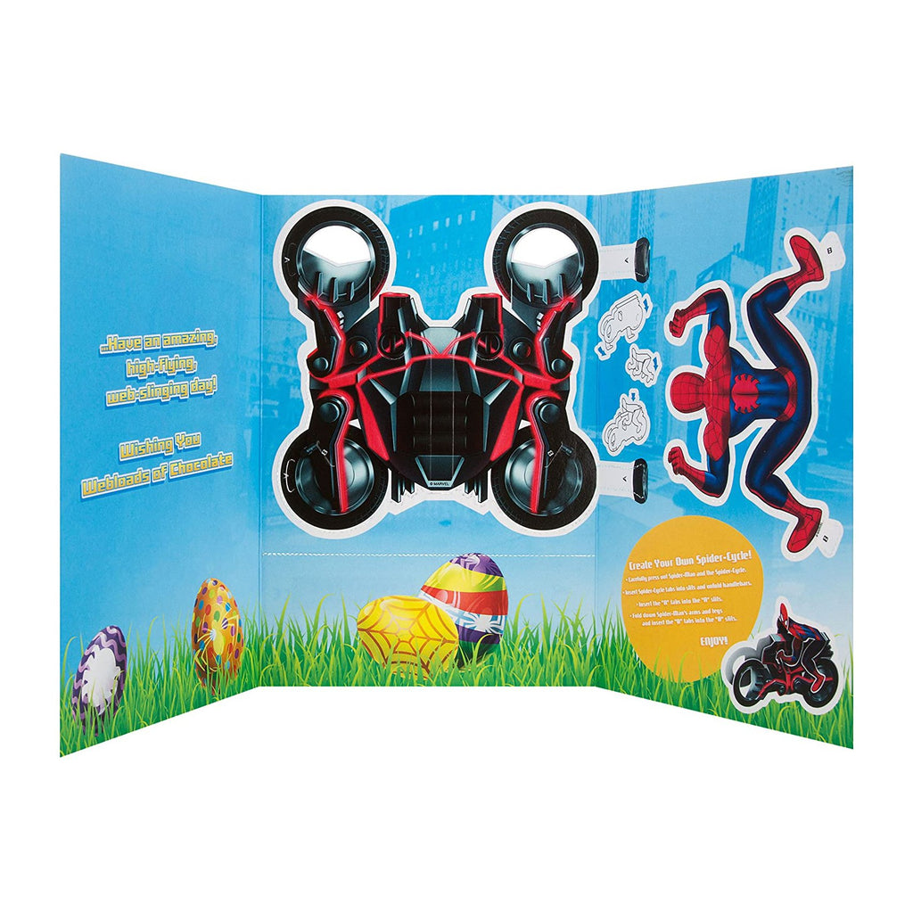 Kids' Easter Activity Card - Marvel Spider-Man 'Create Your Own' Spider-Cycle Design
