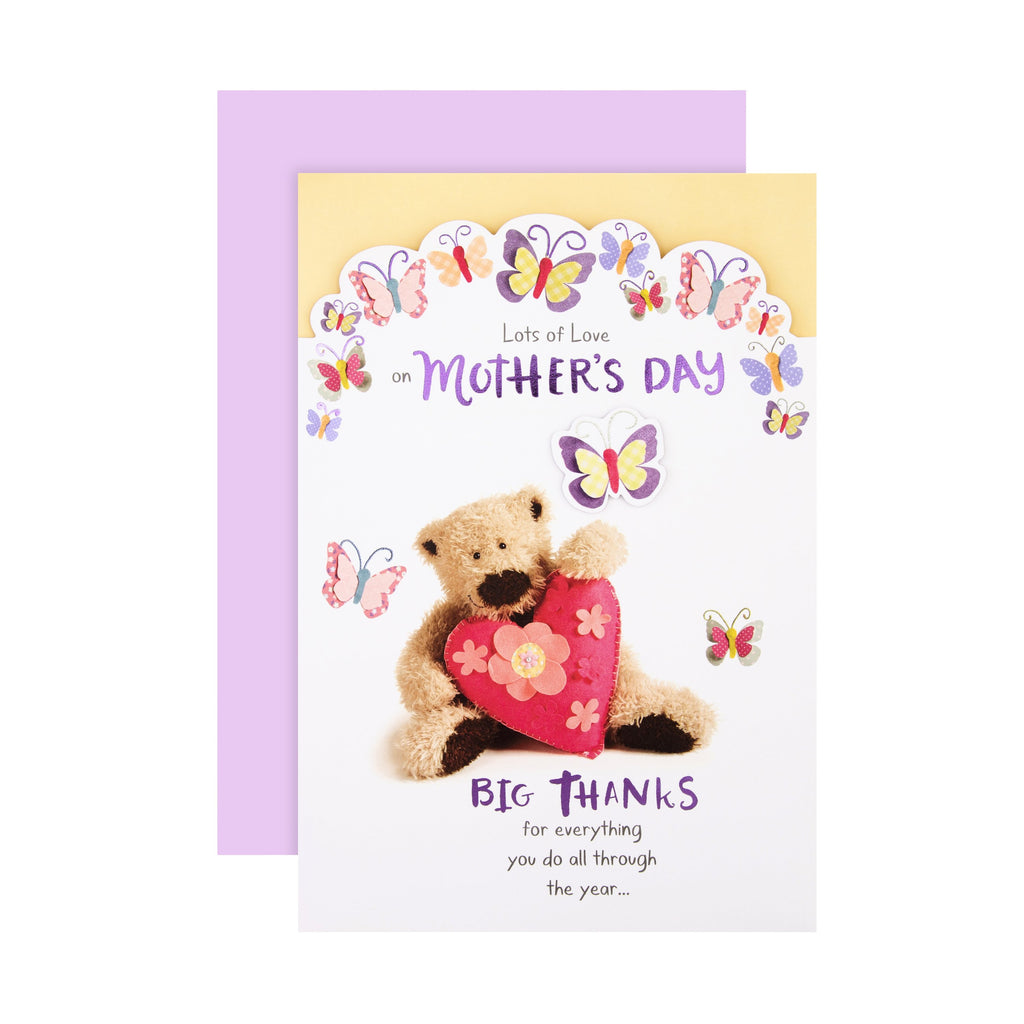 Mother's Day Card - Cute Wellibobs Design