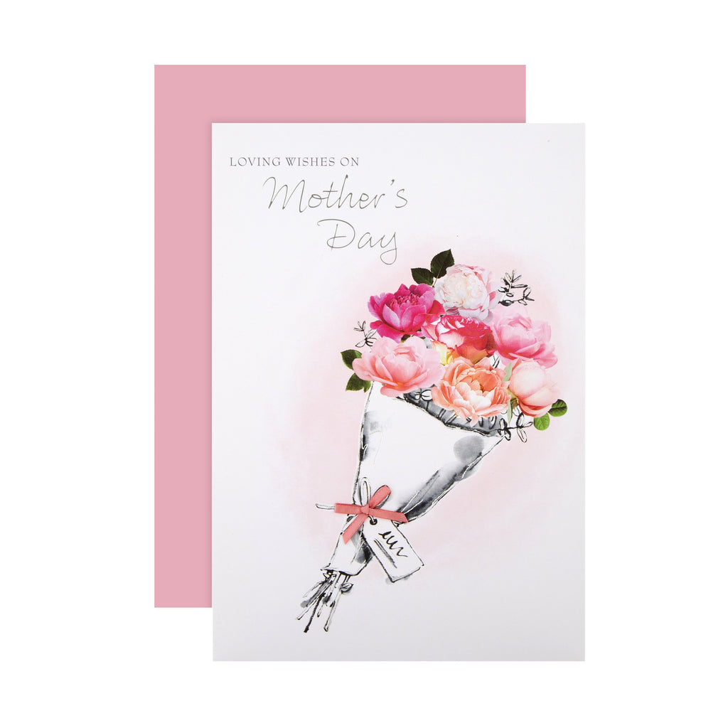 Mother's Day - Traditional Floral Design Card