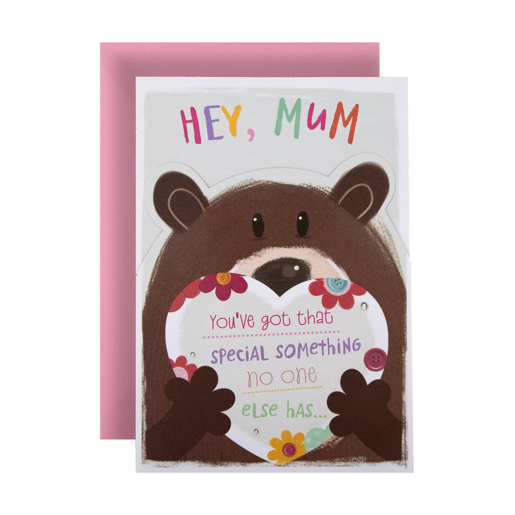 Birthday Card for Mum from Hallmark - Cute All About Gus Design