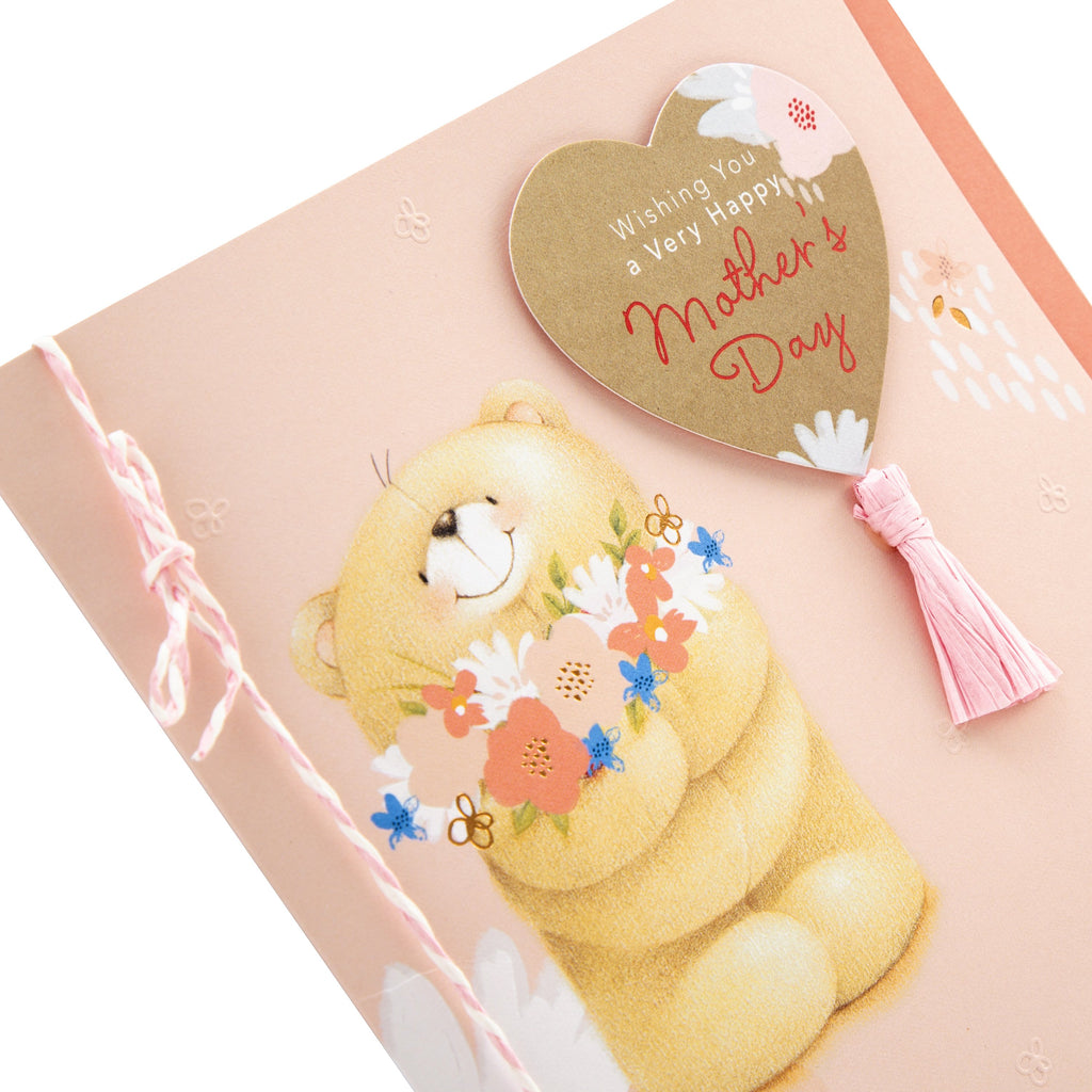 100% Recyclable Mother's Day Card - Cute Forever Friends Design