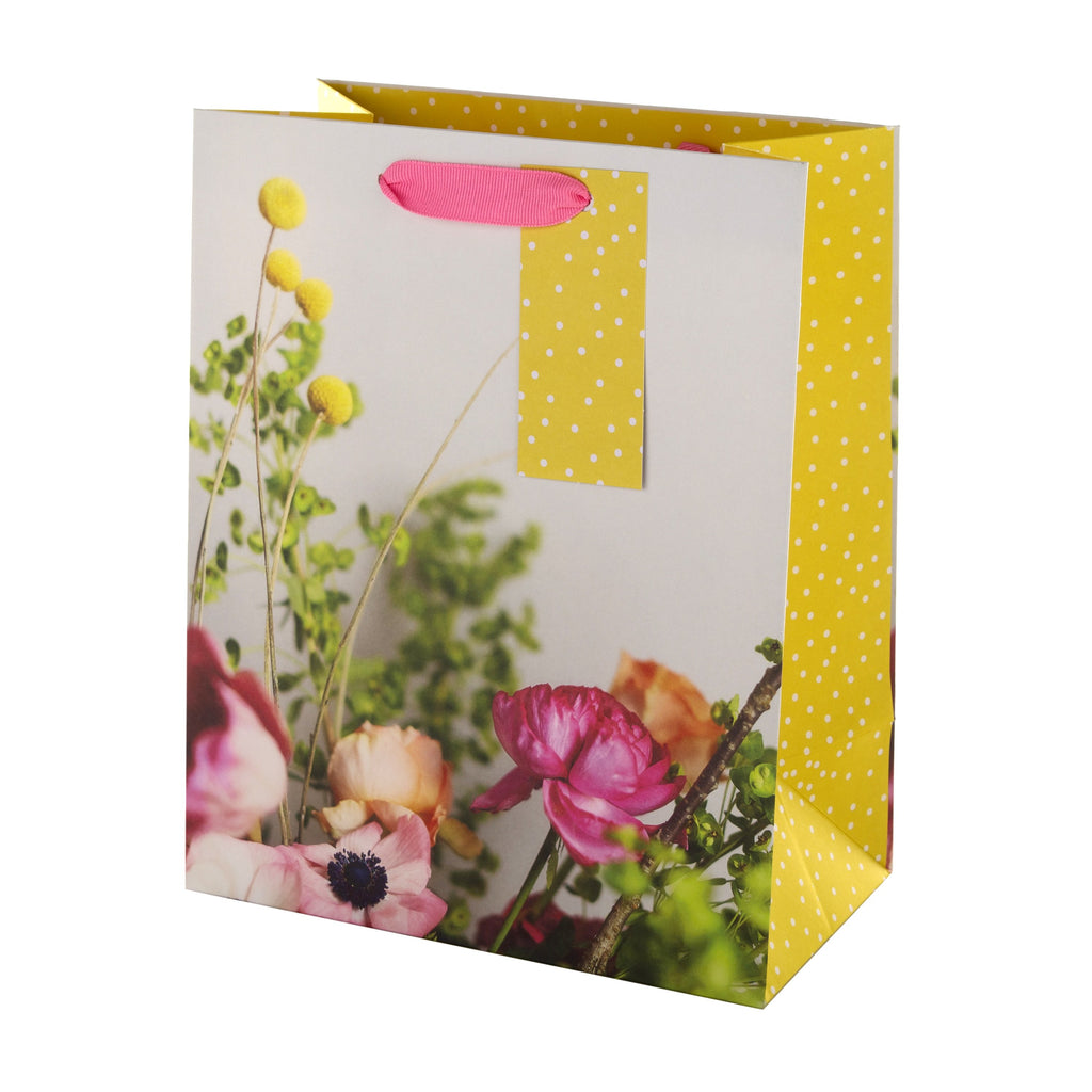 Medium Multi-Occasion Gift Bag from Hallmark - Floral Design
