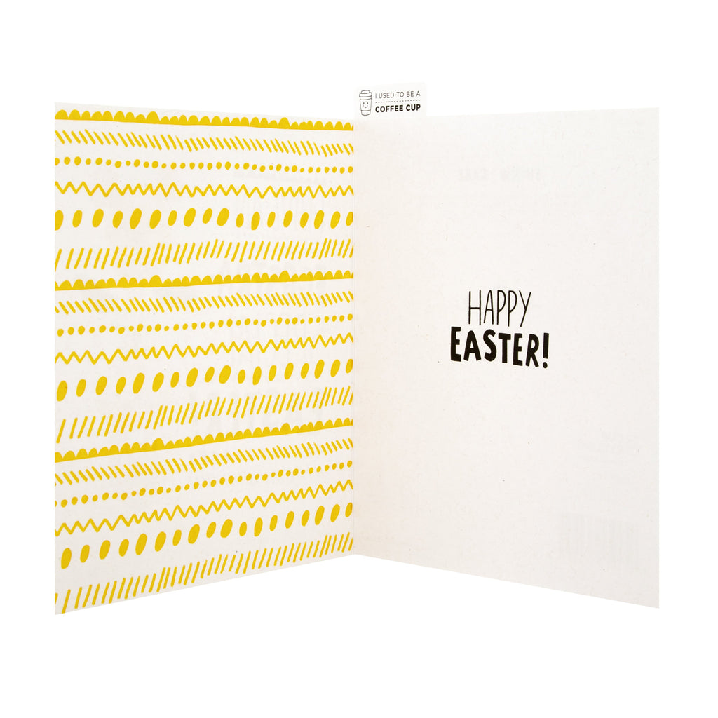 Easter Card - Fun Photographic CupCycling™ Design