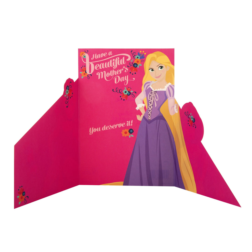 Mother's Day Card - Fun Disney Princess Design
