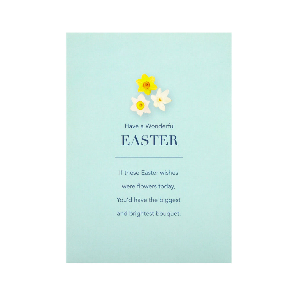 Pack of Easter Cards - 10 Mini Cards in 2 Contemporary Text Based Designs