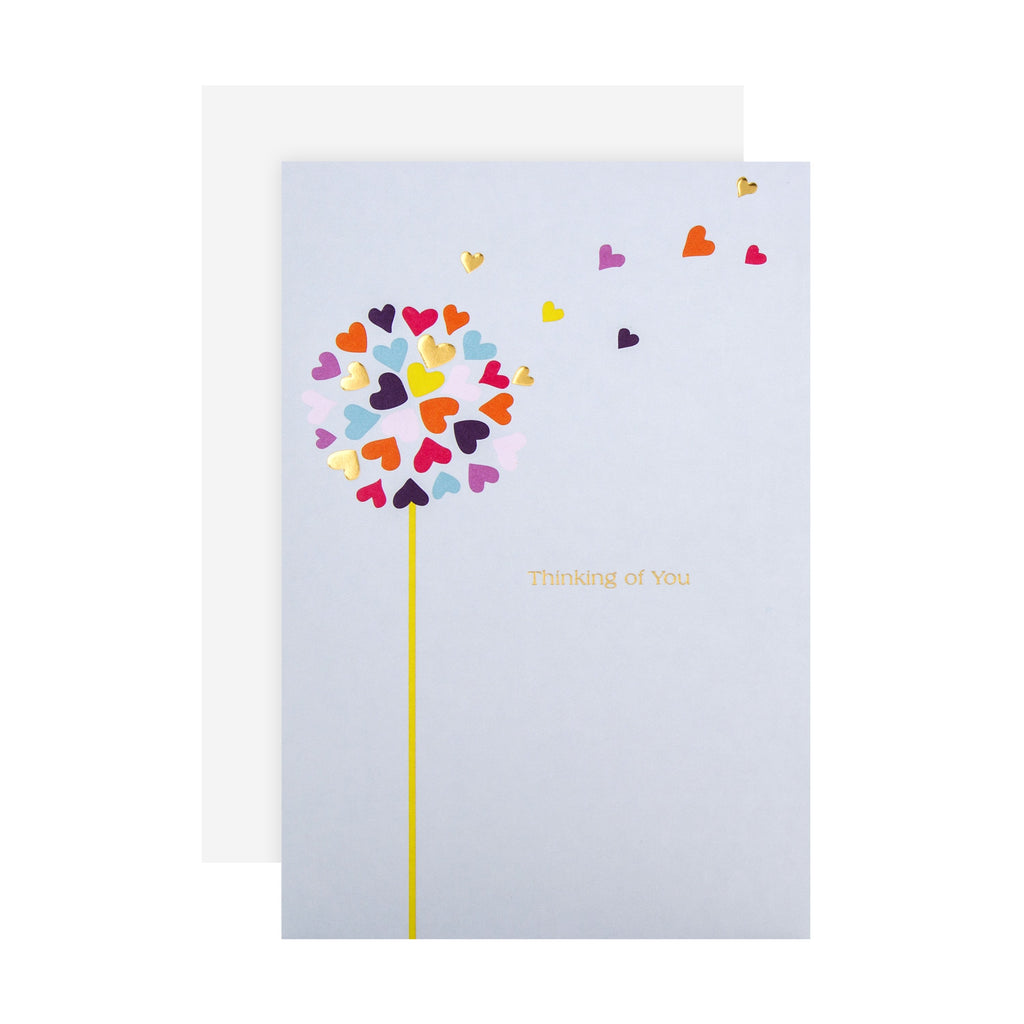 Thinking of You Card - Contemporary Graphic Design
