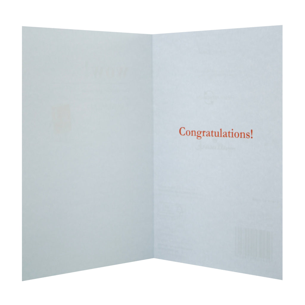 Congratulations/Well Done Card - Cute Illustrated Design