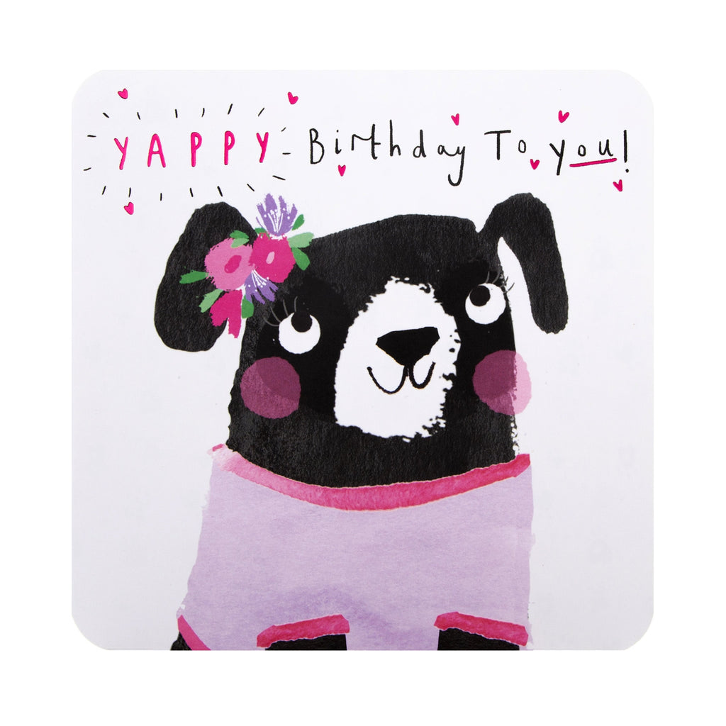 General Birthday Card -  Cute Contemporary Illustrated Design