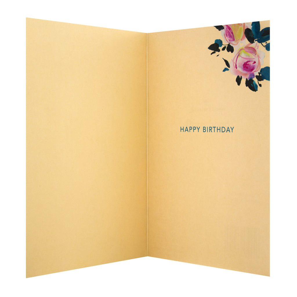 Birthday Card for Friend - Elegant Floral 'good mail' Design