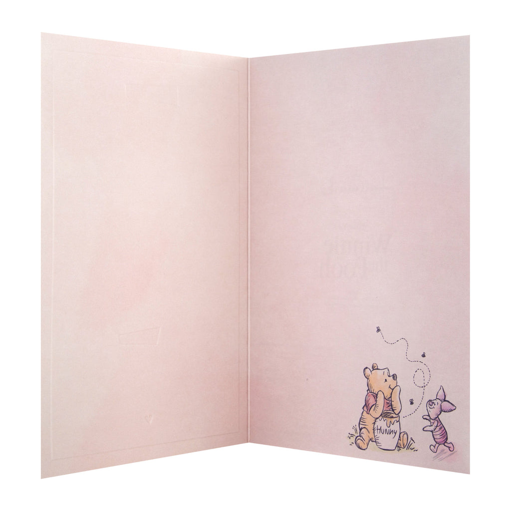 General Support/Thinking of You Card - Cute Winnie-the-Pooh 'State of Kind' Design