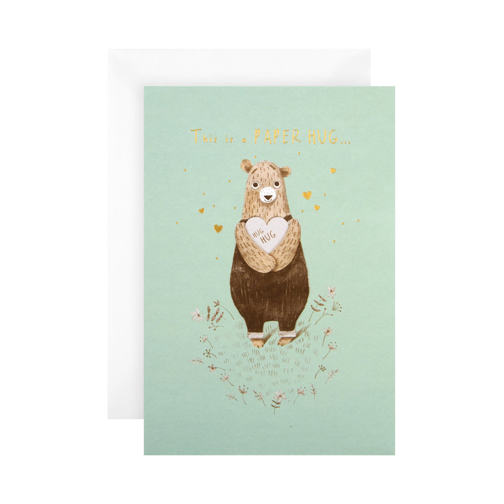 General Support/Thinking of You Card - Cute 'State of Kind' Design